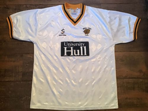 1997 1998 Hull City Away Football Shirt Large L